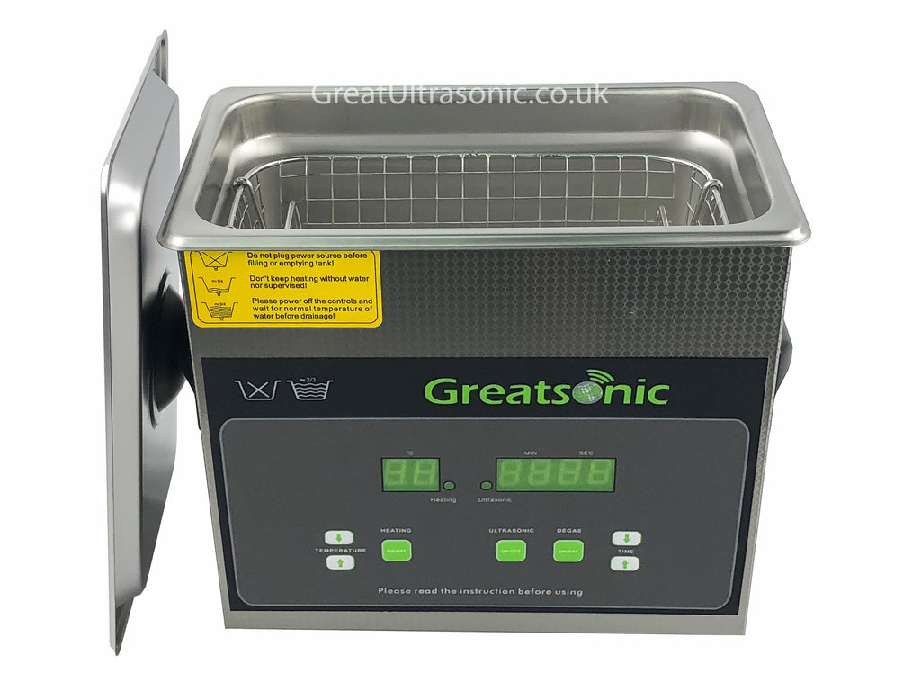 Great dental ultrasonic cleaner 3 litre with degassing