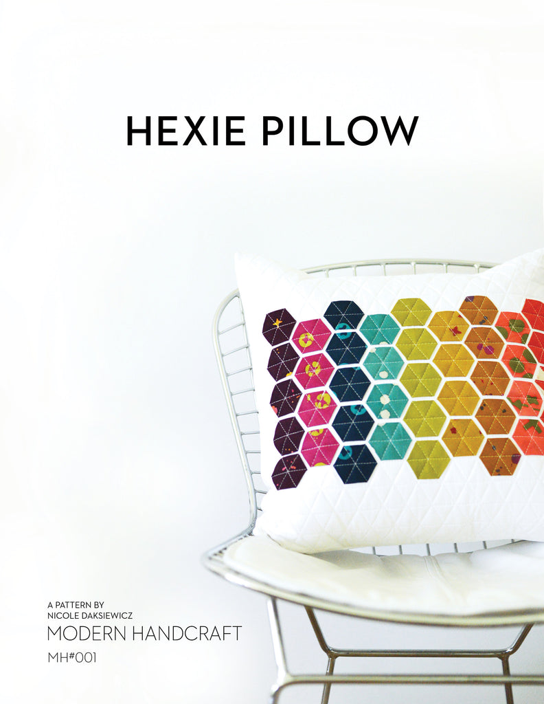 Hexie Pillow PDF Pattern
