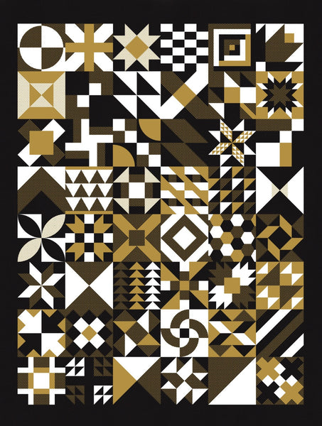 Nomo x Modern Handcraft Modern Blocks Screenprint