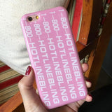 1-800-HOTLINE BLING iPhone Case