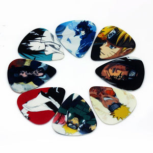 Naruto Sasuke Anime Guitar Picks - 10pcs/set