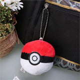 Pokemon Pokeball Plush Keychain