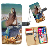 Fantasy Mermaid Wallet Phone Case