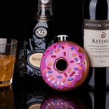 Frosted Donut Flask