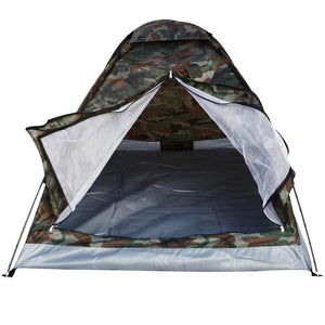 Portable Camouflage 2 Persons Camping Tent