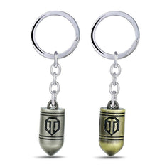 World of Tanks WOT Bullet Keychain