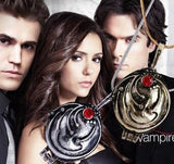 The Vampire Diaries Elena Gilbert's Locket Pendant Necklace