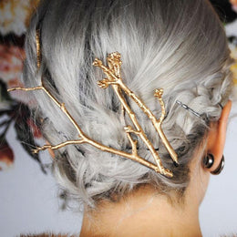 Tree Twig Hair Pin