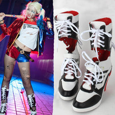 Suicide Squat Harley Quinn Boots