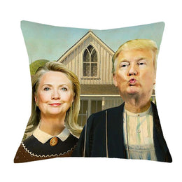 Presidential Election Pillow Case Cushion Cover