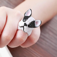 French Bulldog 3D Ring