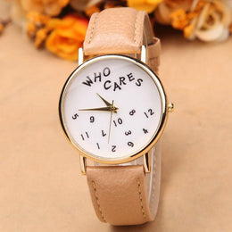 Who Cares Watch