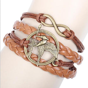 The Hunger Games Infinity Mockingjay Bracelet