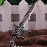 World of Warcraft WoW Frostmourne Sword Pendant Keychain