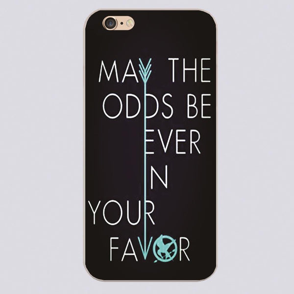 Hunger Games May the Odds Be Ever In Your Favor iPhone Case