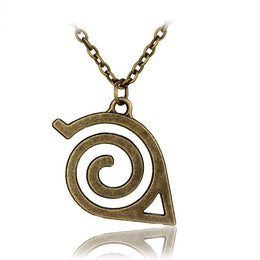 Naruto Anime Konoha Pendant Necklace