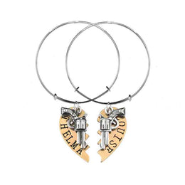 Thelma and Louise Friendship Bangles - Set of 2