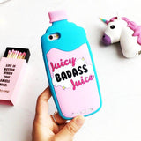 Juicy Badass Juice Bottle iPhone Case