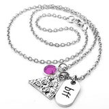 Pizza BFF Friendship Necklace Set of 6