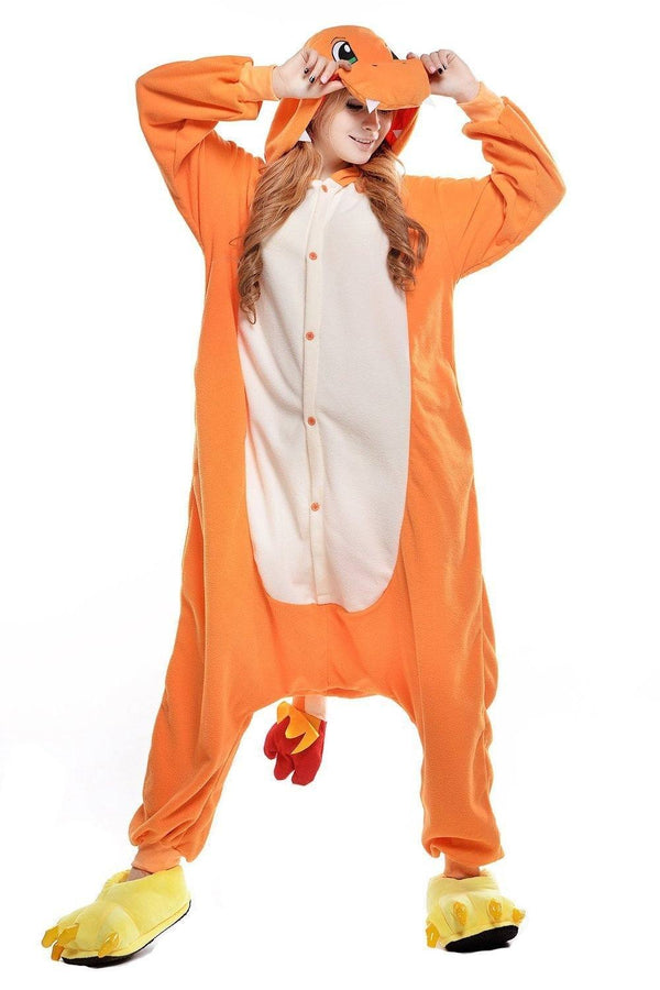 Pokemon Charmander Onesie