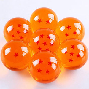 Dragon Ball Z Stars Anime 7-Piece Crystal Ball Set