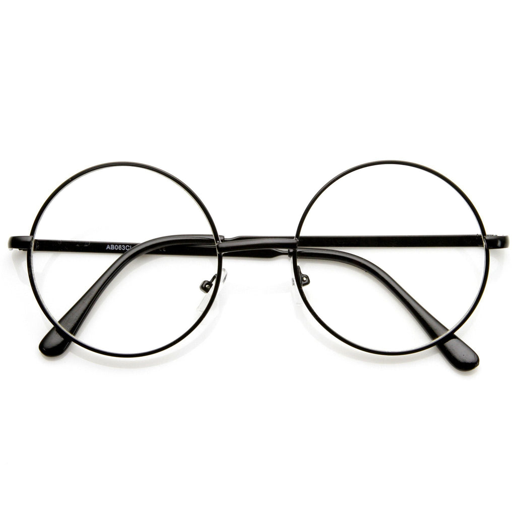 Perfectly Round Glasses