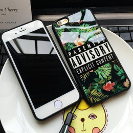Parental Advisory Explicit Content iPhone Case
