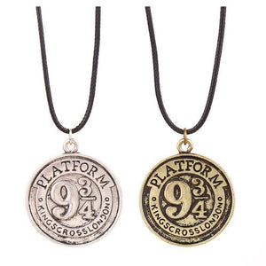 Harry Potter Platform 9 3/4 Coin Necklace