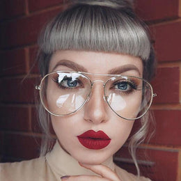 Retro Aviator Glasses