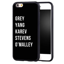 Grey's Anatomy Characters iPhone Case