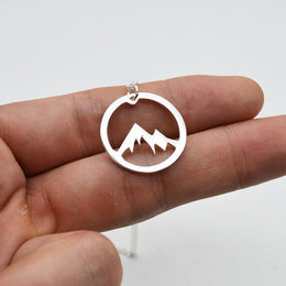 Mountain of Courage Necklace