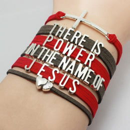There is Power in The Name Of Jesus Bracelet