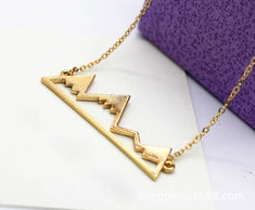 Mountain Peak Necklace