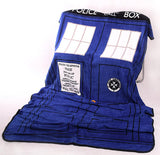 Doctor Who Tardis Police Box Throw Blanket