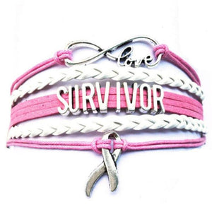 Survivor Infinity Love Bracelet