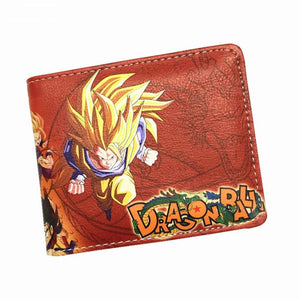 Dragon Ball Z Leather Billfold Wallet