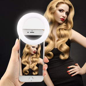 Clip-On Selfie Ring Light