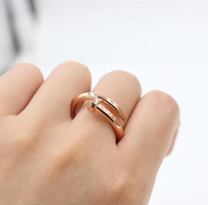 Nail-Shaped Ring