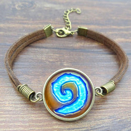 World of Warcraft WoW Hearthstone Charm Bracelet