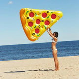 Giant Pizza Slice Inflatable Pool Float