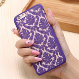 Floral Pattern Phone Case for iPhone