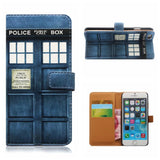 Doctor Who Tardis Wallet Phone Case