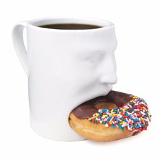Hungry Face Cookie Mug