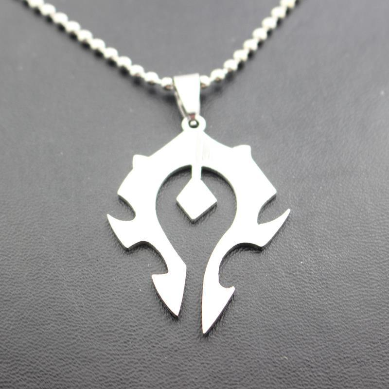 183526a351f Free-Shipping-Cos-Cosplay-World-Of-Warcraft-For-Horde-Silver-Badge-Necklace-Statement-Necklace-High-Quality 5.jpg v 1506335291