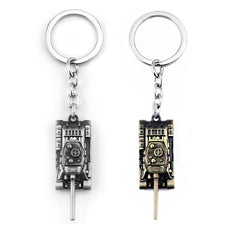 World of Tanks WOT Metal Tank Keychain