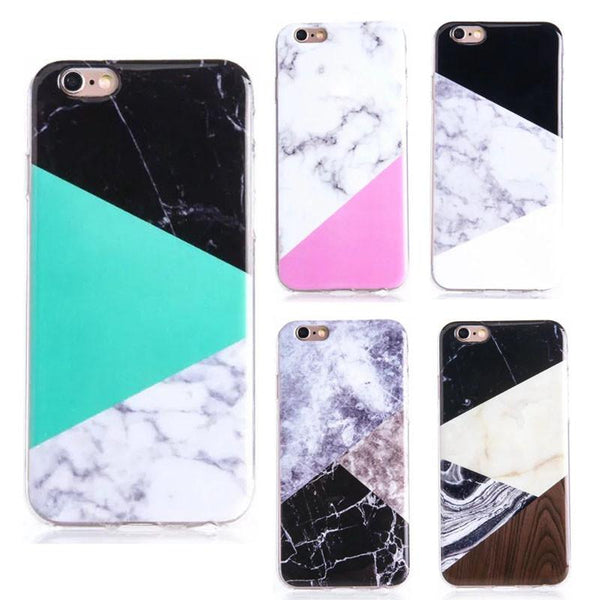 Marble Wood iPhone Case