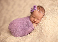 Stretch Knit Baby Wrap Newborn Photo Props