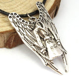 Supernatural Castiel Trench Coat Necklace