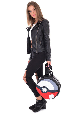 Pokemon Pokeball Round Backpack