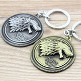 Game of Thrones Stark Family Badge Keychain